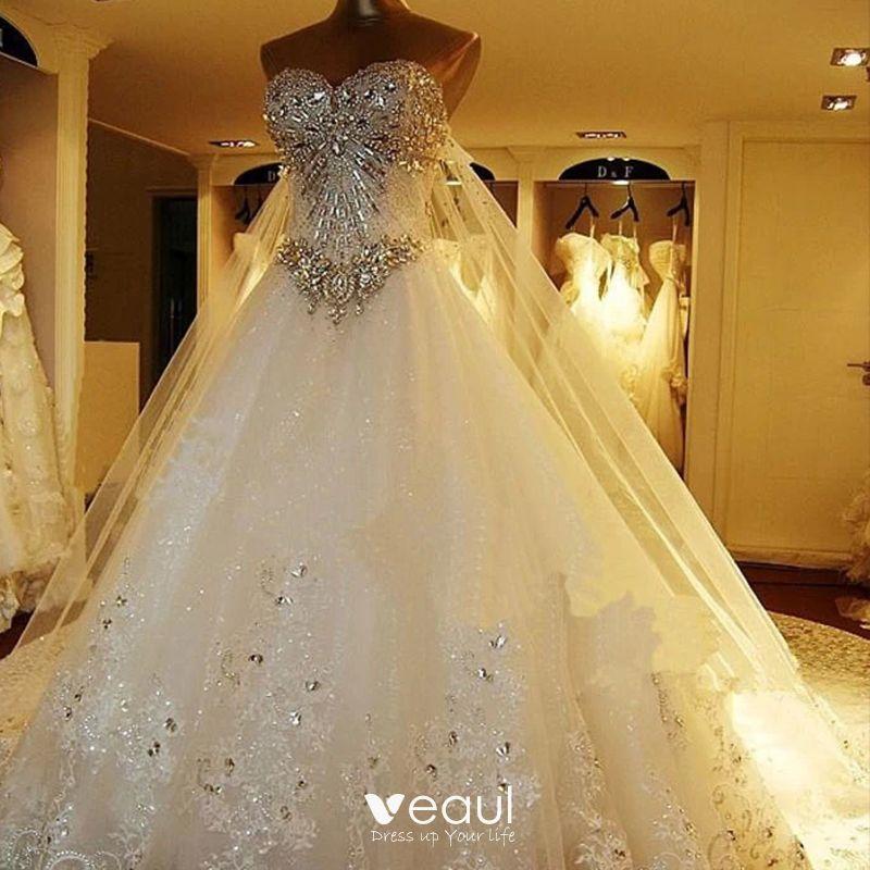 luxury gorgeous white corset