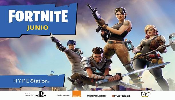 HYPE Station tendrá un torneo de Fornite este mes