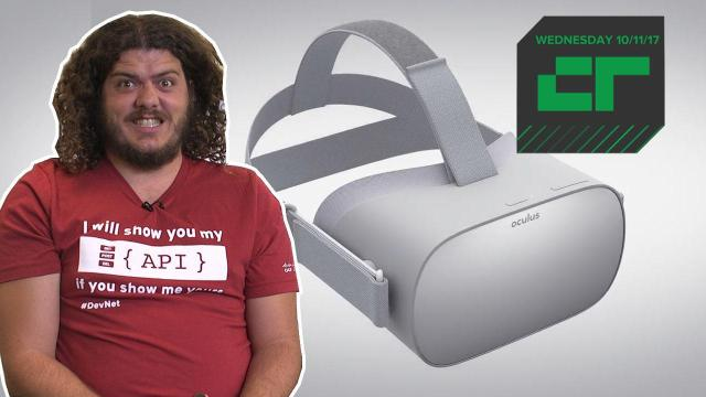 The $199 Oculus Go Standalone Headset   Crunch Report