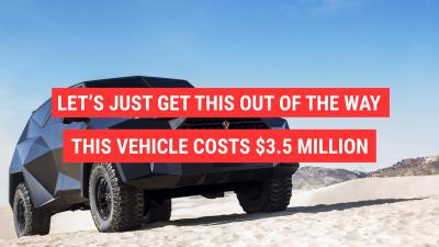 Image result for This SUV costs $3.5 million and yes, it's bulletproof
