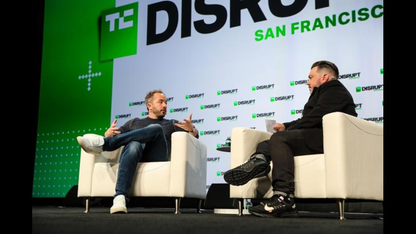 From Private to Public with Drew Houston (Dropbox) | Disrupt SF 2018