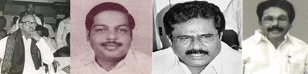 நாவலர், பண்ரூட்டி ராமச்சந்திரன், திருநாவுக்கரசு, கே.கே.எஸ்.எஸ்.ஆர்