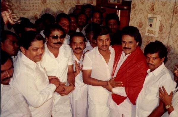 கே.கே.எஸ்.எஸ்.ஆர், ராமராஜன், திருநாவுக்கரசு