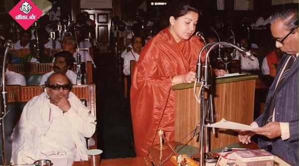 கருணாநிதி - ஜெயலலிதா