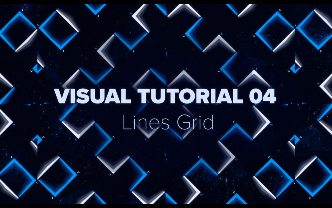VISUAL TUTORIAL 04 – Lines Grid