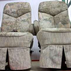 Motorhome Captain Chair Seat Covers Linens For Rent Flexsteel Rv Velcromag Furniture Used Fl Designed Sofa Info