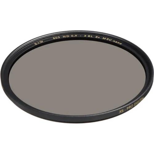 B+W Filters 49mm - 803 ND 0.9 MRC nano XS PRO BW49803 Lens Glass Filters - Vistek Canada Product Detail
