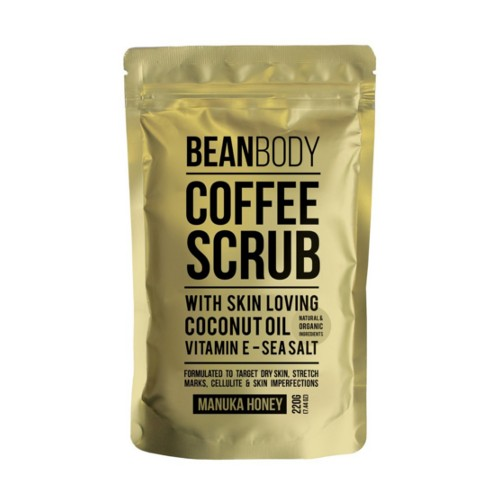 Bean Body Tělový peeling Manukový med (Coffee Bean Scrub Manuka Honey) 220 g (kBEA005) od www.kosmetika.cz