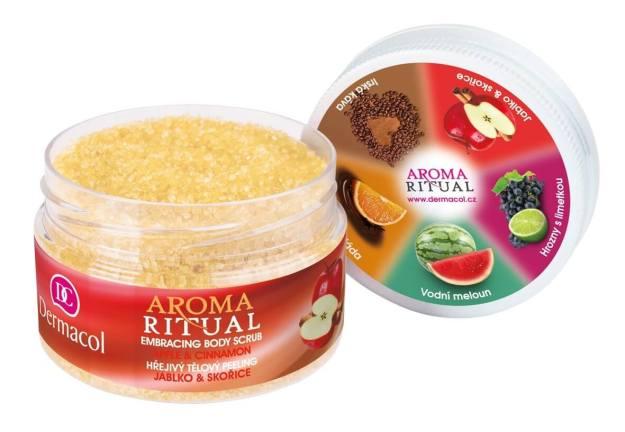 Dermacol Hřejivý tělový peeling jablko a skořice Aroma Ritual 200 g (kDM4119) od www.kosmetika.cz