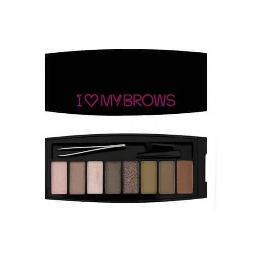 Makeup Revolution Set na obočí Své obočí Ultimate I LOVE MAKEUP (Brows Shadow Palette) 7,6 g (kMK213) od www.kosmetika.cz