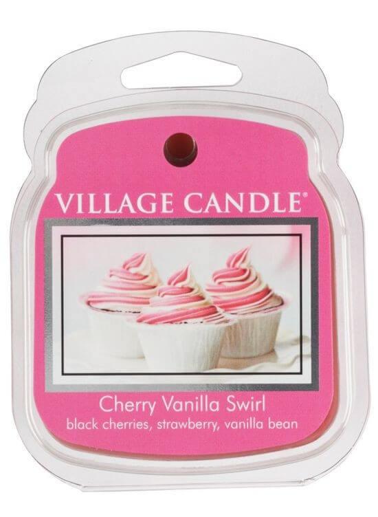 Village Candle Rozpustný vosk do aromalampy Višeň a vanilka (Cherry Vanilla Swirl) 62 g (kVIL0159) od www.kosmetika.cz
