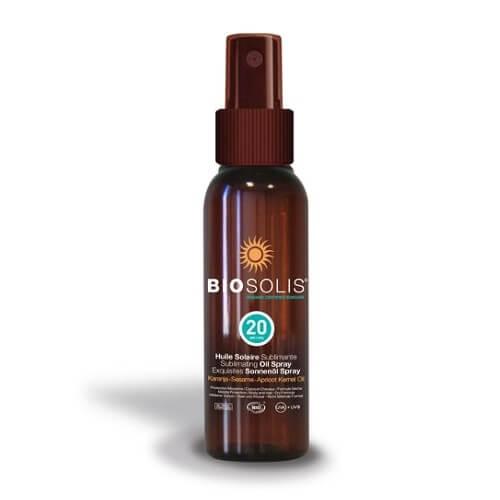 Biosolis Hydratační a sublimační opalovací olej SPF 20 (Sun Oil Spray) 100 ml (kBIS010) od www.kosmetika.cz