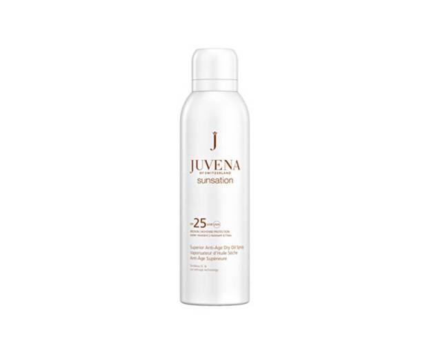 Juvena Suchý olej na opalování SPF 25 Sunsation (Superior Anti-Age Dry Oil Spray) 200 ml (kJU9102) od www.kosmetika.cz