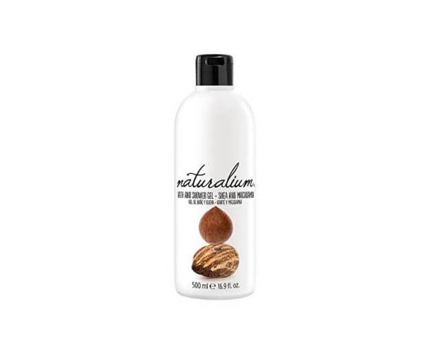 Regenerační koupelový a sprchový gel s bambuckým máslem a makadamiovým olejem (Nuts Shea And Macadamia Bath And Shower Gel) 500 ml (kNAT042) od www.prozdravi.cz