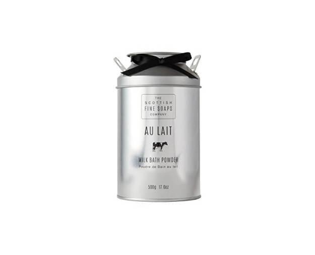Scottish Fine Soaps Sypký prášek do koupele Au Lait 500 g (kSCO0037) od www.kosmetika.cz