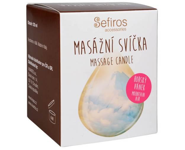 Sefiros Masážní svíčka Horský vánek (Massage Candle) 120 ml (kSE193) od www.kosmetika.cz
