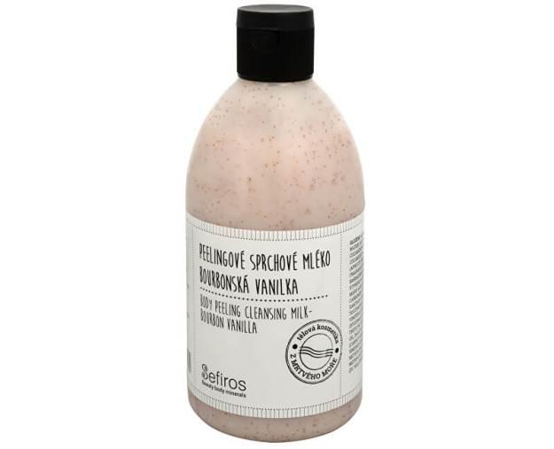 Peelingové sprchové mléko Bourbonská vanilka (Body Peeling Cleansing Milk) 500 ml (kSE120) od www.prozdravi.cz