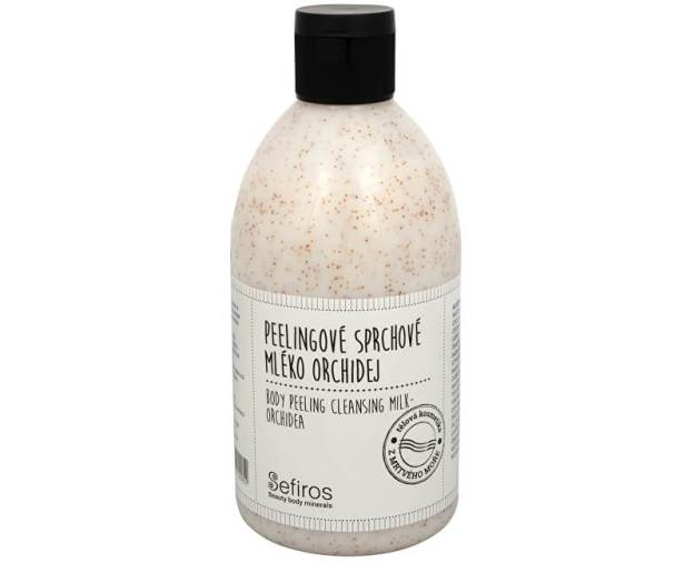 Peelingové sprchové mléko Orchidej (Body Peeling Cleansing Milk) 500 ml (kSE119) od www.prozdravi.cz