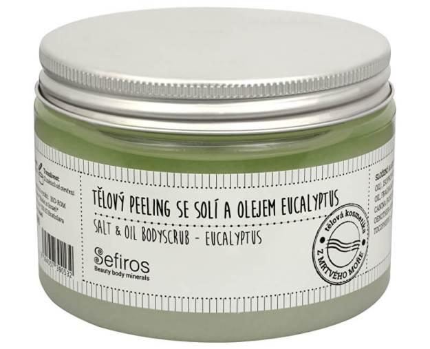 Tělový peeling se solí a olejem Eucalyptus (Salt & Oil Bodyscrub) 300 ml - SLEVA - poškozené víčko (kSLEVA1755) od www.prozdravi.cz