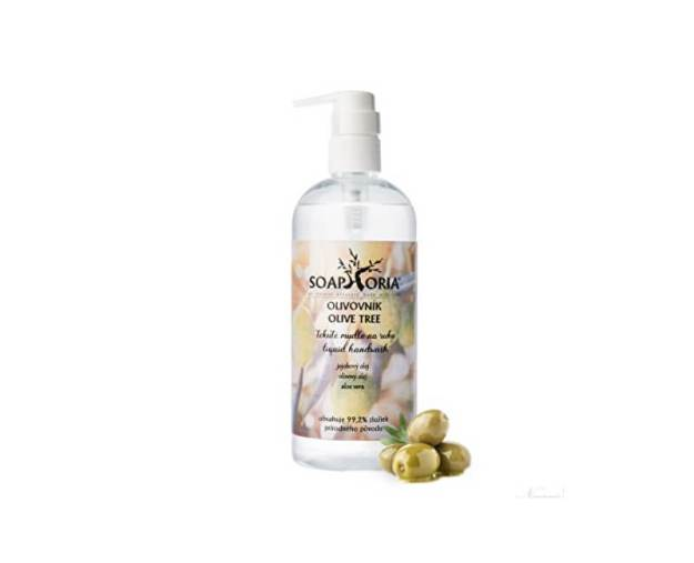 Organické tekuté mýdlo na ruce Olivovník (Liquid Hand Wash) 400 ml (kSP288) od www.prozdravi.cz