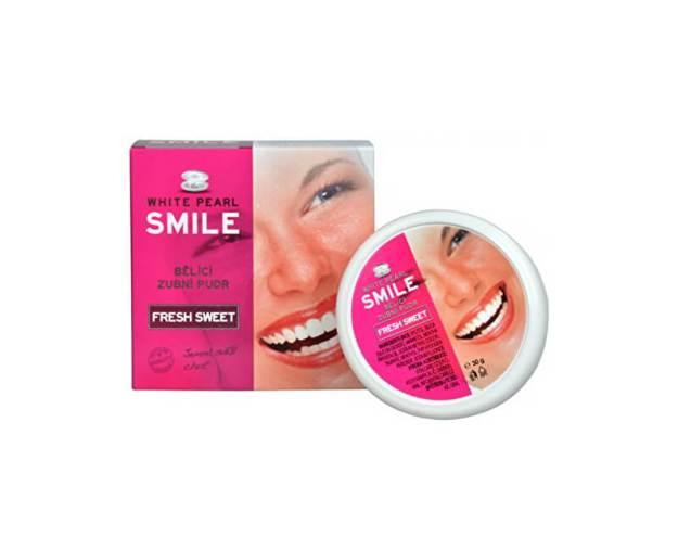 Bělicí zubní pudr SMILE Fresh Sweet 30 g (kVC008) od www.prozdravi.cz