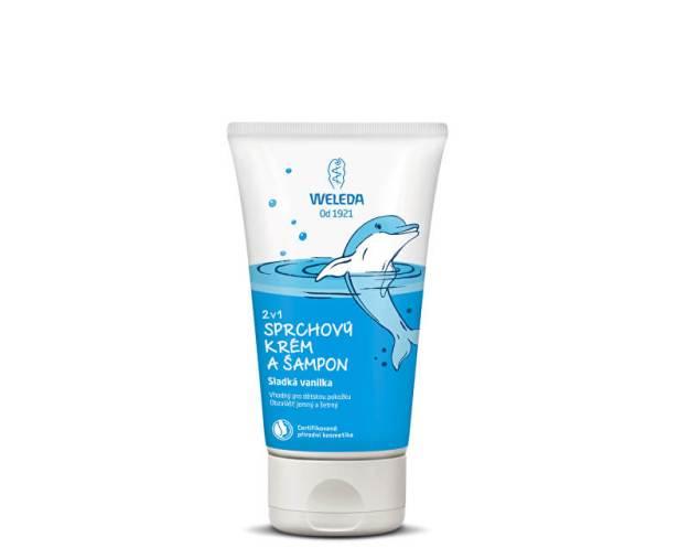 Sprchový krém a šampon 2 v 1 Sladká vanilka 150 ml (kWD380) od www.prozdravi.cz