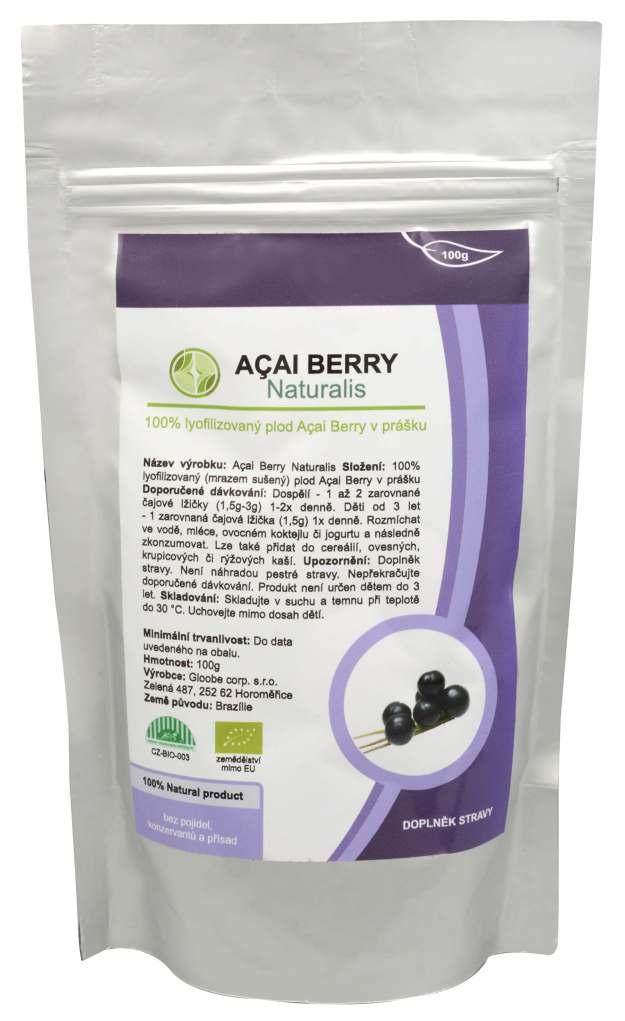 Naturalis Acai Berry Naturalis 100 g (z43366) od www.kosmetika.cz