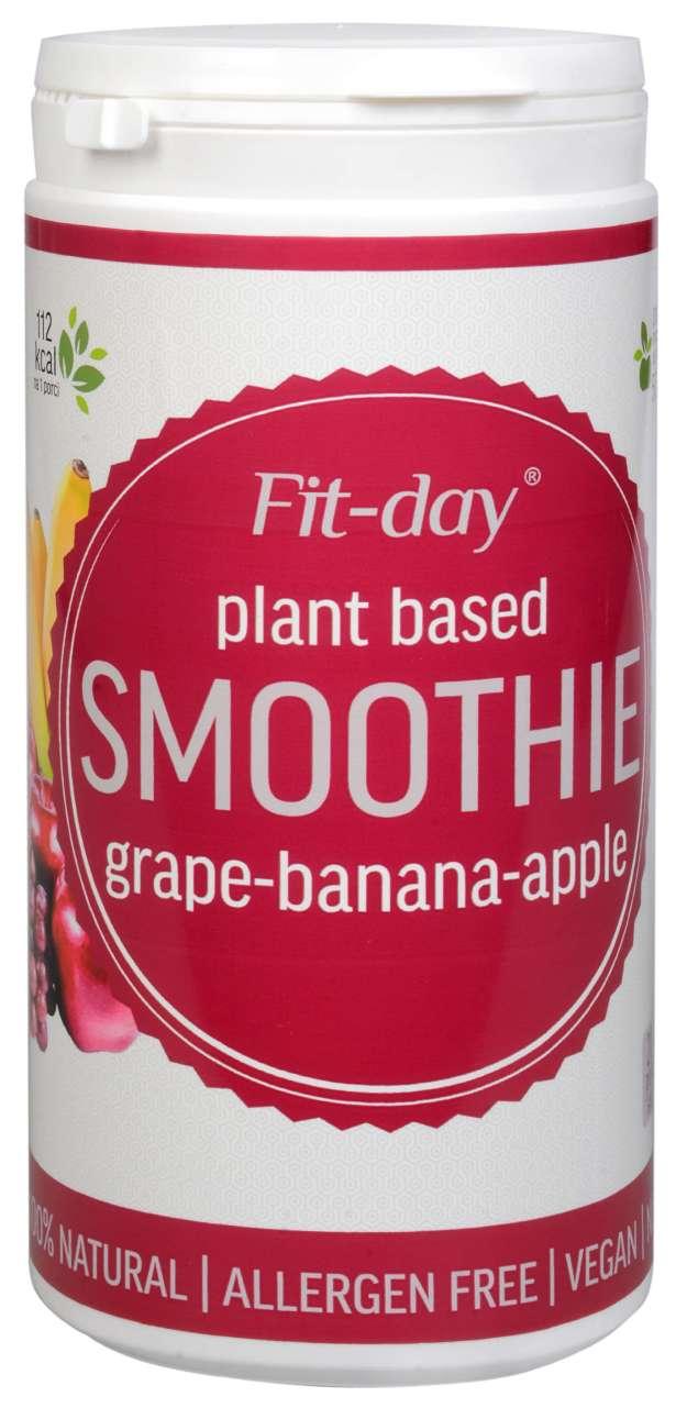 FIT-DAY FIT-DAY Plant based smoothie GRAPE-BANANA-APPLE 600 g (z49881) od www.kosmetika.cz