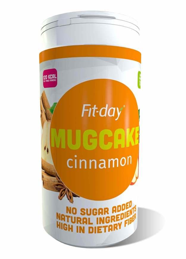 FIT-DAY FIT-DAY Protein Mugcake CINNAMON 600 g (z53340) od www.kosmetika.cz