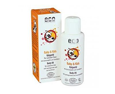Eco Cosmetics Kojenecký a dětský olej BIO 100ml (z53652) od www.kosmetika.cz