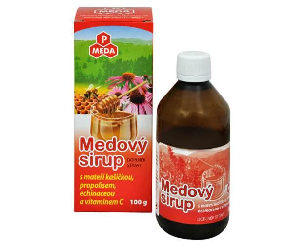 PM Medový sirup s mateří kašičkou, propolisem, echinaceou a vitamínem C 100 g (z974) od www.prozdravi.cz