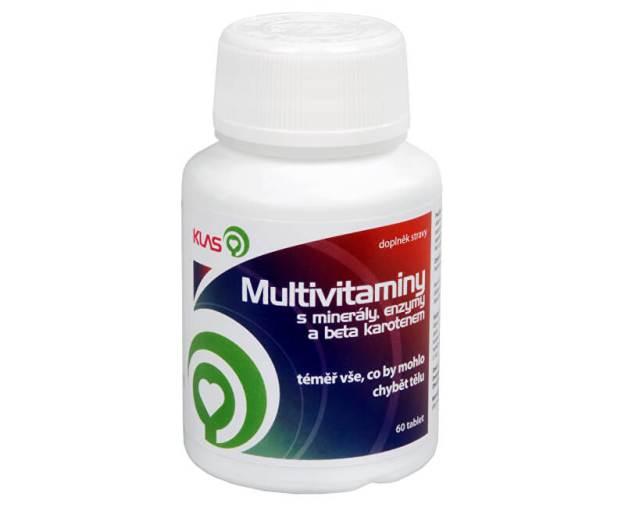 Multivitamíny plus minerály a enzymy 60 tbl. (z180) od www.prozdravi.cz