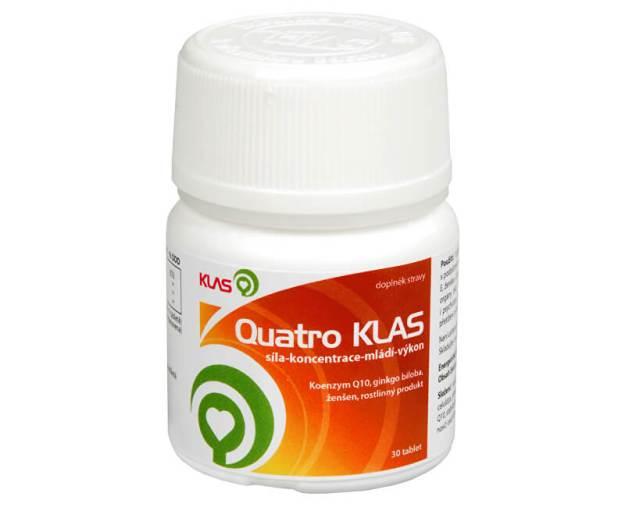 Quatro Klas 30 tbl. (z114) od www.prozdravi.cz