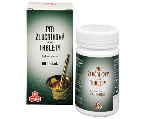 PM Žlučníkový elixír 60 tbl. (z1241) od www.prozdravi.cz