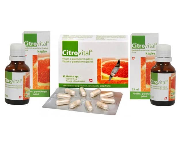 Citrovital 2+1 ZDARMA (2x 25 ml kapky + Citrovital 30 kapslí ZDARMA) (z3083) od www.prozdravi.cz