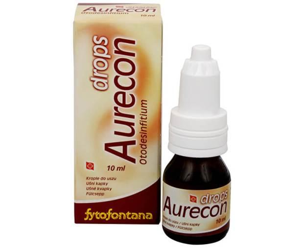 Herb Pharma Aurecon ušní kapky 10 ml (z4713) od www.kosmetika.cz