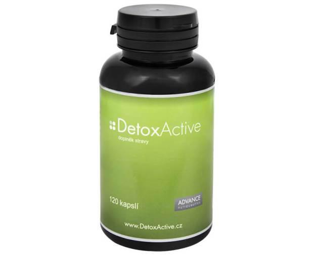 Advance nutraceutics DetoxActive 120 kapslí (z4527) od www.kosmetika.cz