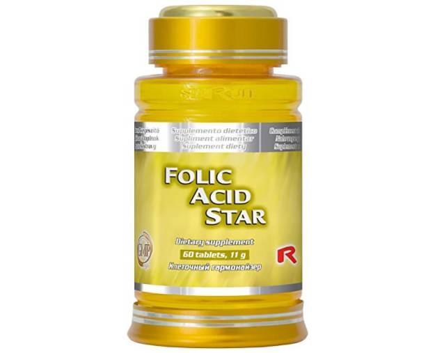 FOLIC ACID STAR 60 tbl. (z5207) od www.prozdravi.cz