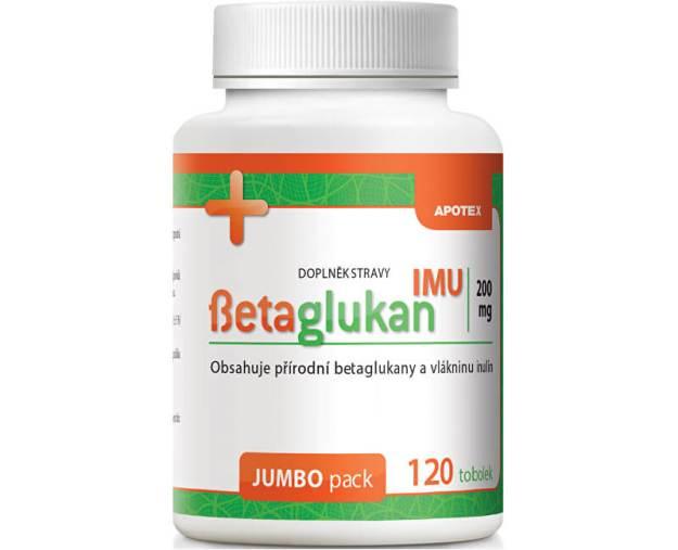 Betaglukan IMU 200 mg 120 tob. (z41424) od www.prozdravi.cz