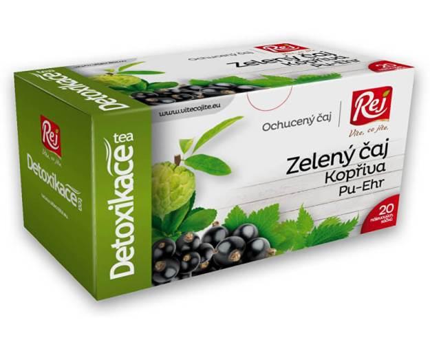 Čaj DETOXIKACE - zelený čaj s kopřivou a pu-erh 30g (z41516) od www.prozdravi.cz