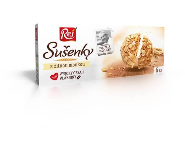 Sušenky s žitnou moukou 120g (z41521) od www.prozdravi.cz
