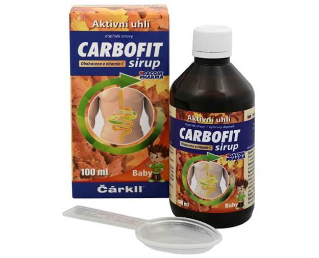 Carbofit sirup 100 ml (z43237) od www.prozdravi.cz