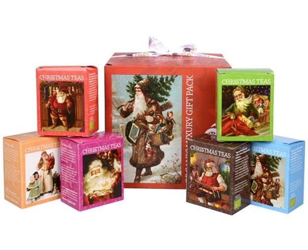 Dárková kolekce - luxusní BIO čaje v červené kostce 96 sáčků/6 příchutí (z43098) od www.prozdravi.cz