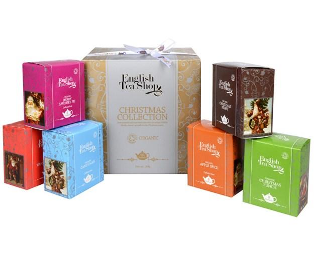 Dárková kolekce - luxusní BIO čaje ve zlaté kostce 96 sáčků/6 příchutí (z43099) od www.prozdravi.cz
