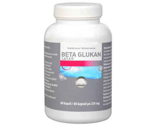 Beta Glukan 1,3/1,6 D čistý 60 kapslí (z46982) od www.prozdravi.cz