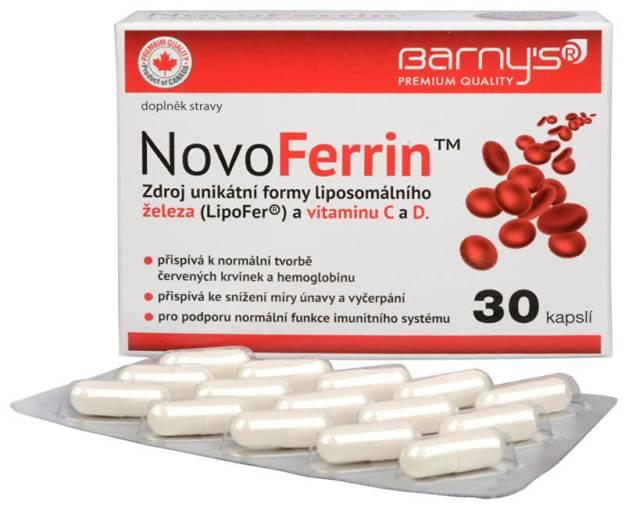 NovoFerrin 30 kapslí (z49502) od www.prozdravi.cz