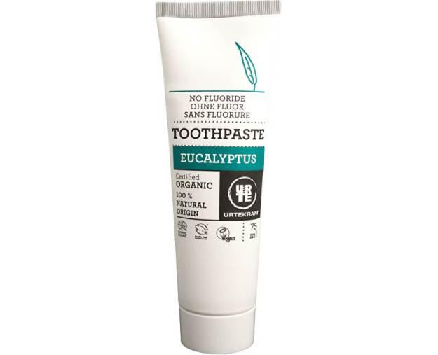 Urtekram Zubní pasta eukalyptus 75 ml BIO (z50624) od www.kosmetika.cz