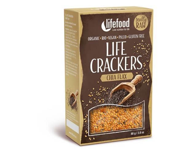 Bio Life crackers  Lněné s chia RAW 80 g (z51961) od www.prozdravi.cz