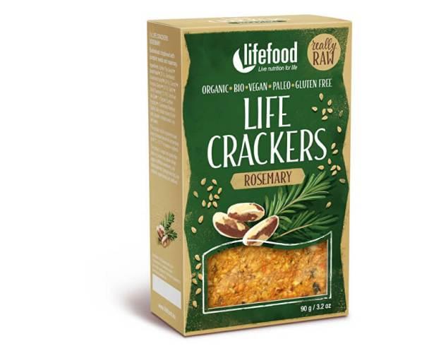 Bio Life crackers Rozmarýnové RAW 90 g (z51965) od www.prozdravi.cz