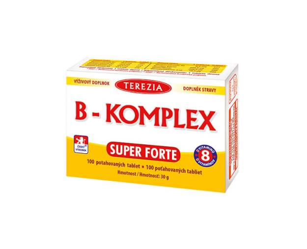 B-komplex Super Forte 100 tablet (z52632) od www.prozdravi.cz